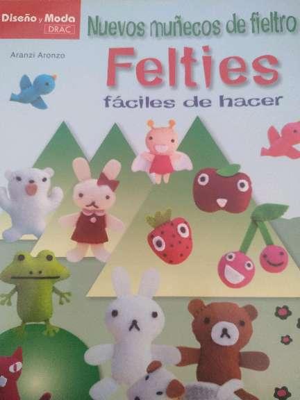 Imagen Libro muñecos de fieltro