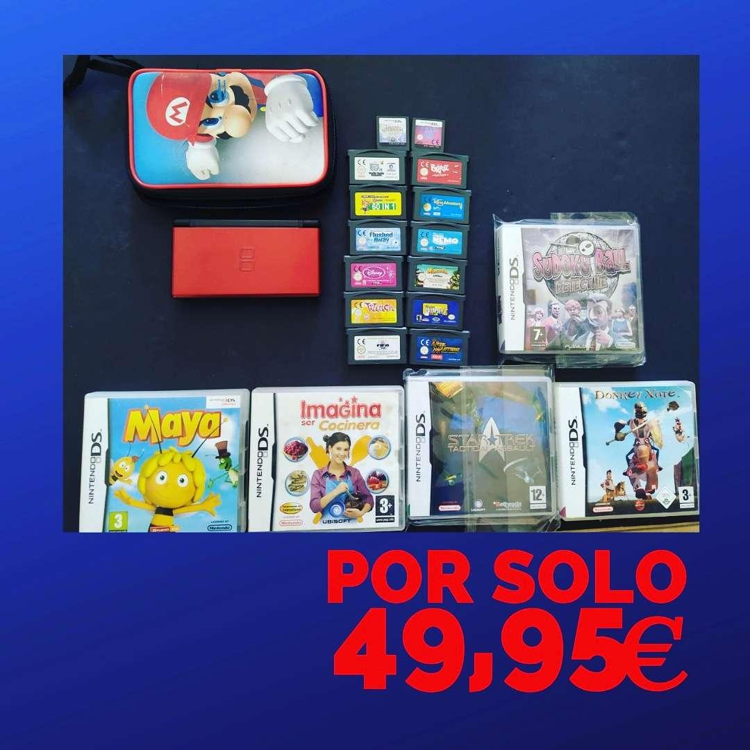 Imagen Mega Lote Nintendo DSI Lite