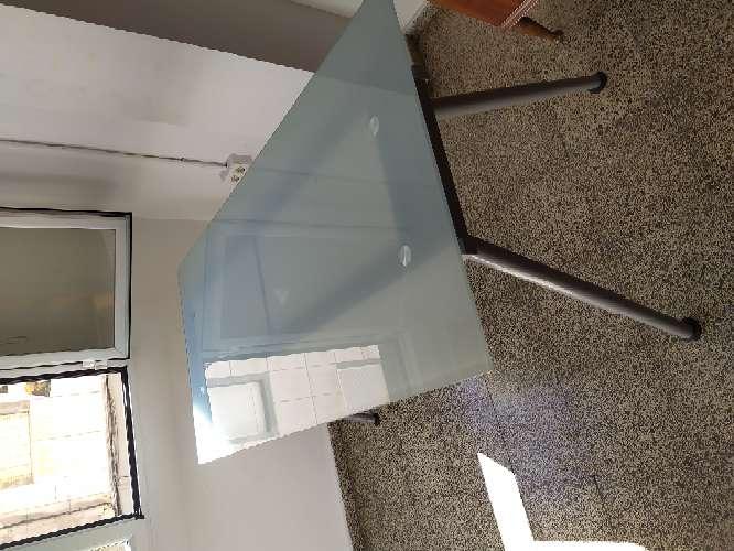 Imagen Mesa de oficina/escritorio de cristal