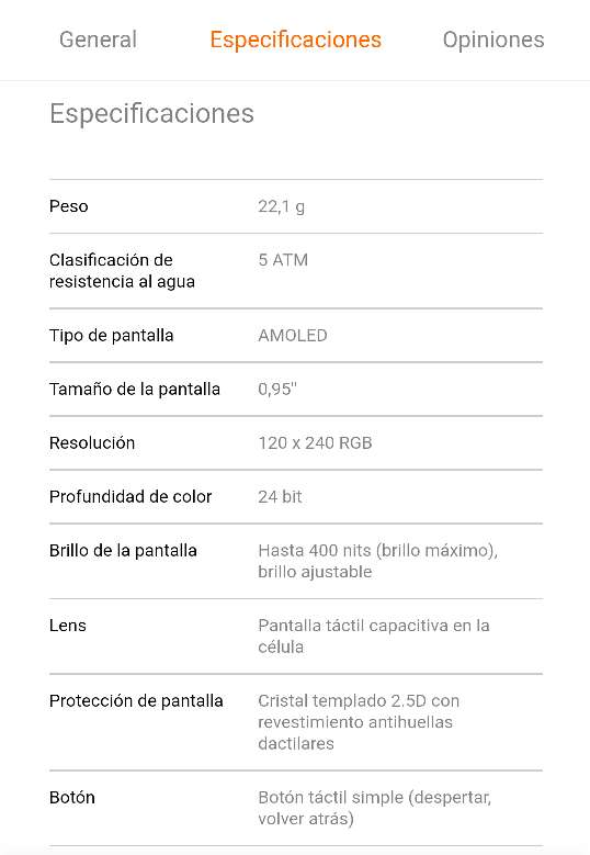 Imagen producto Xiaomi Mi Smart Band 4 5