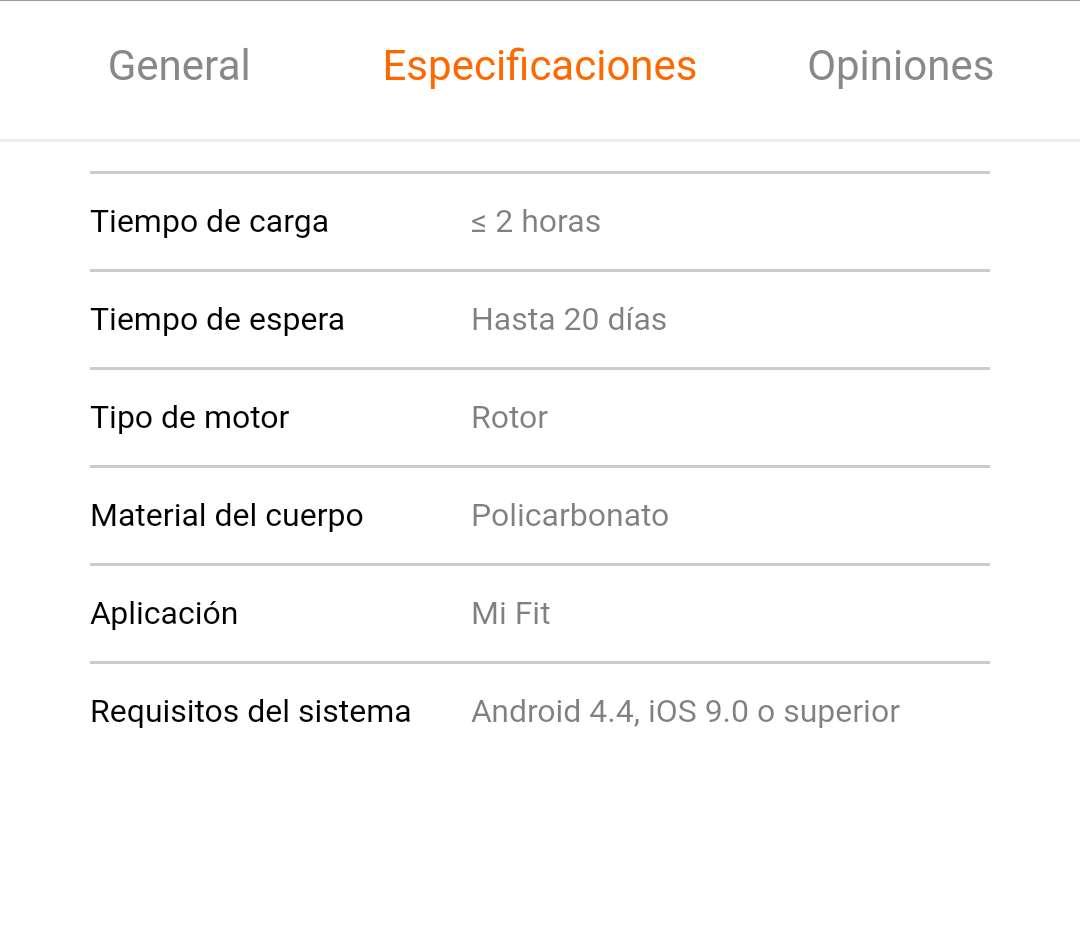 Imagen producto Xiaomi Mi Smart Band 4 7