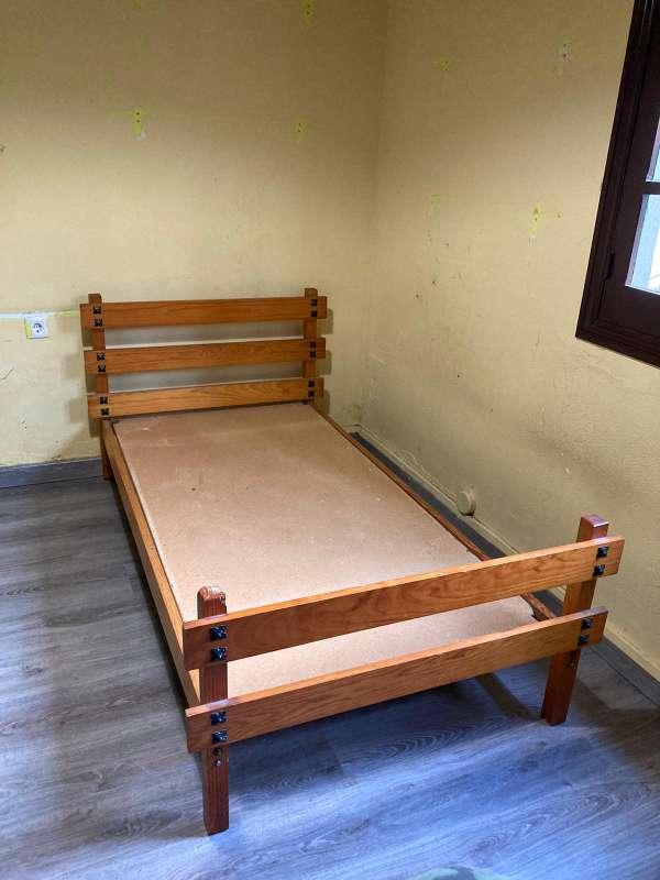 Imagen Cama madera maciza