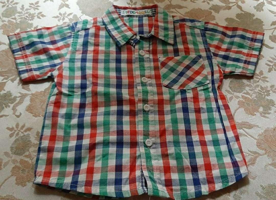 Imagen producto Camisa Cuadros Niño 6 meses  1
