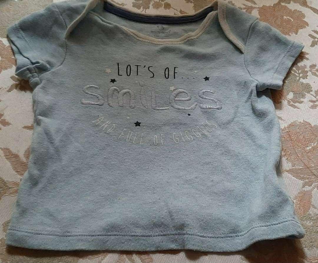 Imagen Camiseta Smile Talla 74cm