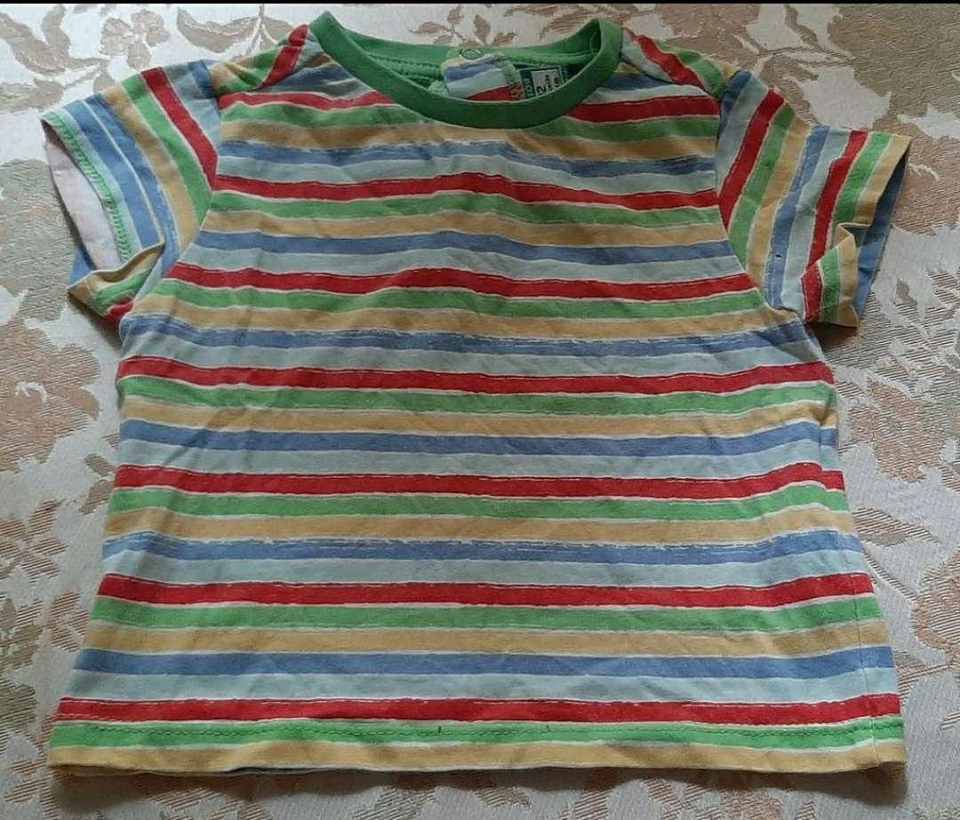 Imagen Camiseta Rayas Colores Top Top 74cm
