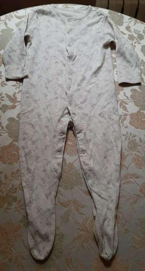 Imagen Pijama Flores Niña Primark 80cm