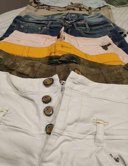 Imagen lote de 8 pantalones