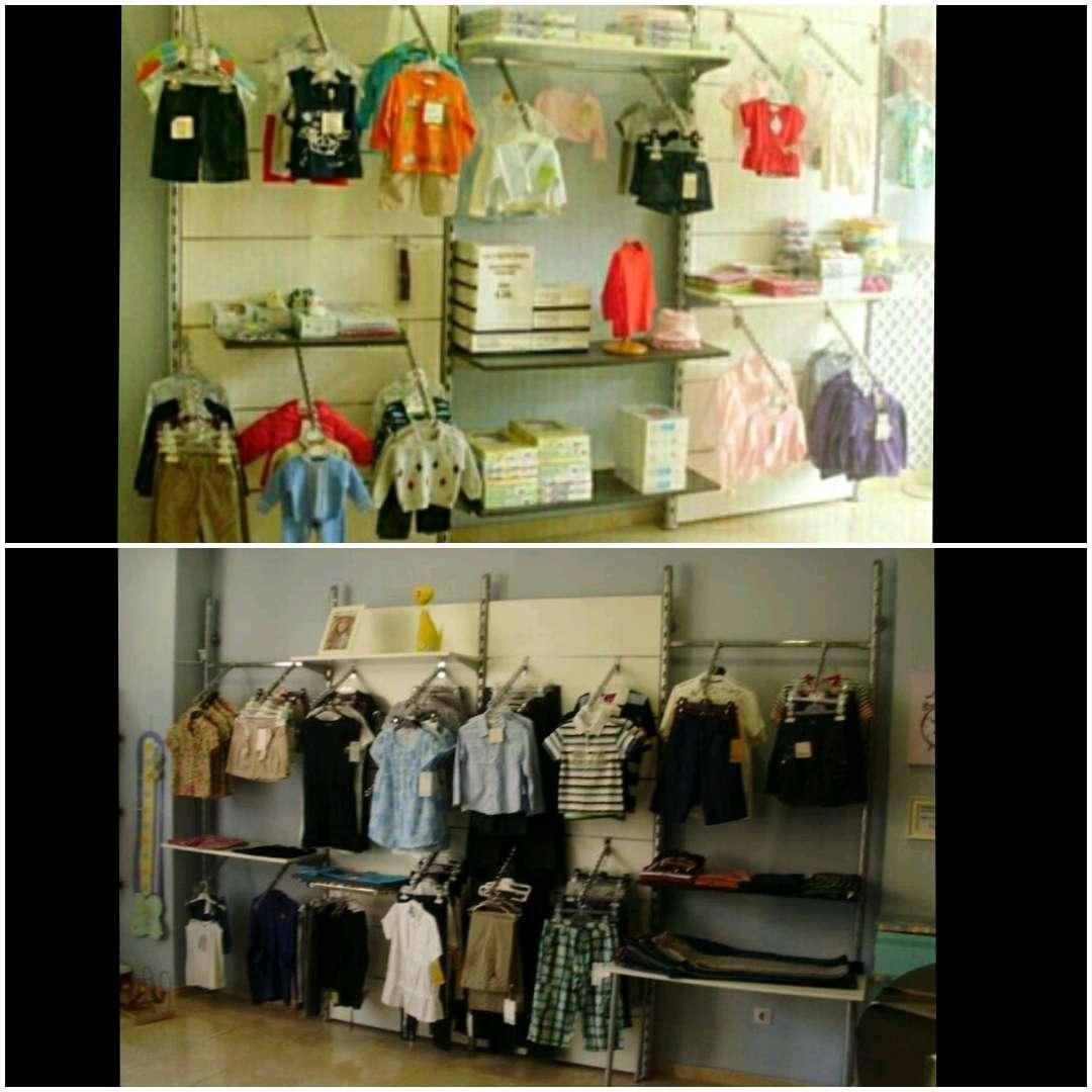 Imagen mobiliario 7 modulos tienda de ropa