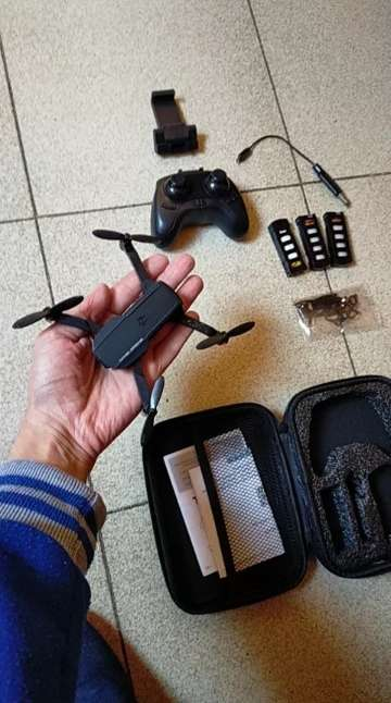Imagen Dron con cámara 4K