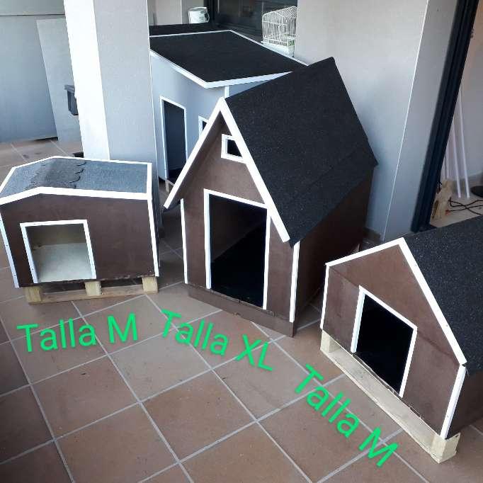 Imagen Casetas para perros de distintas tallas