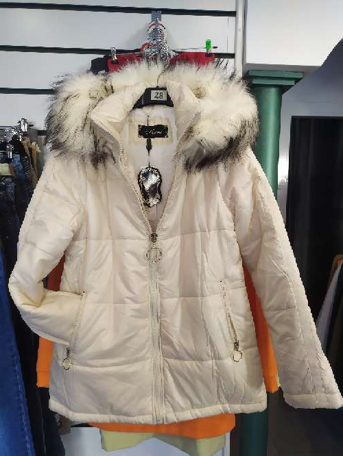 Imagen abrigo cazadora talla grande