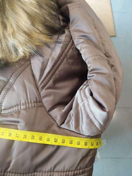 Imagen producto Abrigo con cinturon  talla grande 2