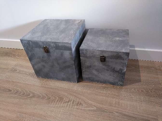 Imagen producto 2 cajas decorativas  1