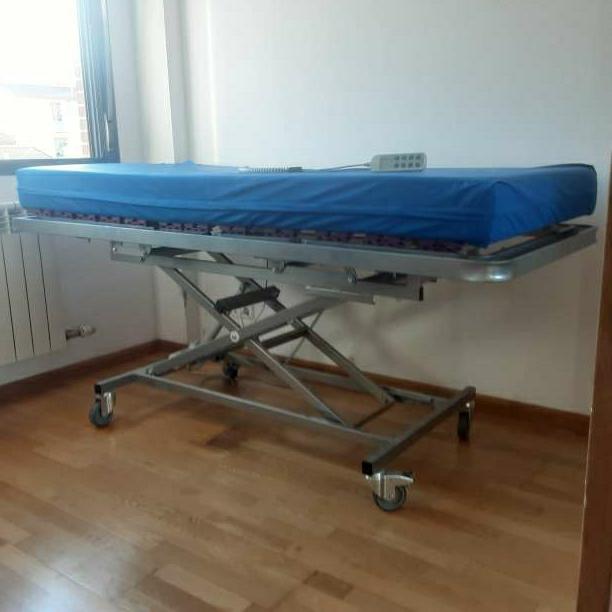 Imagen cama eléctrica para enfermos