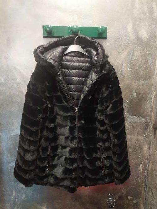 Imagen Abrigo Reversible con capucha