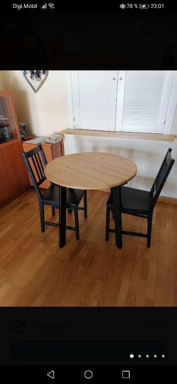 Imagen Conjunto mesa y sillas