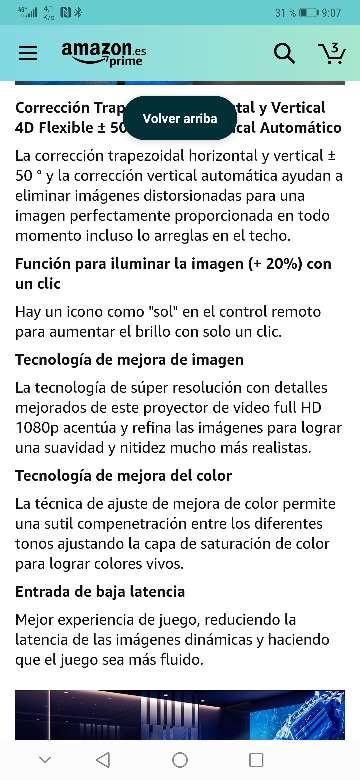 Imagen producto Vendo proyector wimius nuevo a estrenar 7200 lúmens,soporta 4k resolución 1920x1080.salidas HDMI, VGA y USB . 8