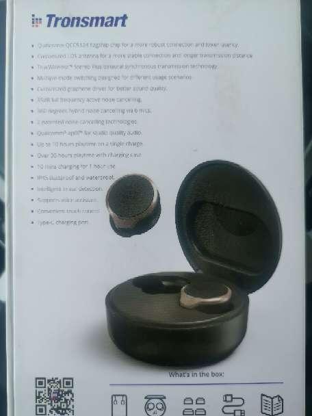 Imagen producto Vendo auriculares Tronsmart Apollo bold. 3