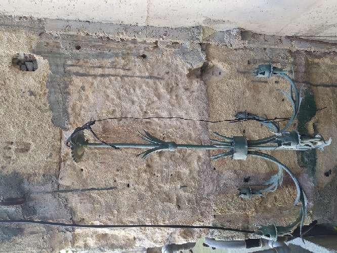 Imagen Lámpara de hierro forjado
