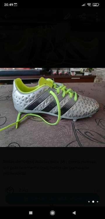 Imagen producto Botas fútbol Adidas 38 2