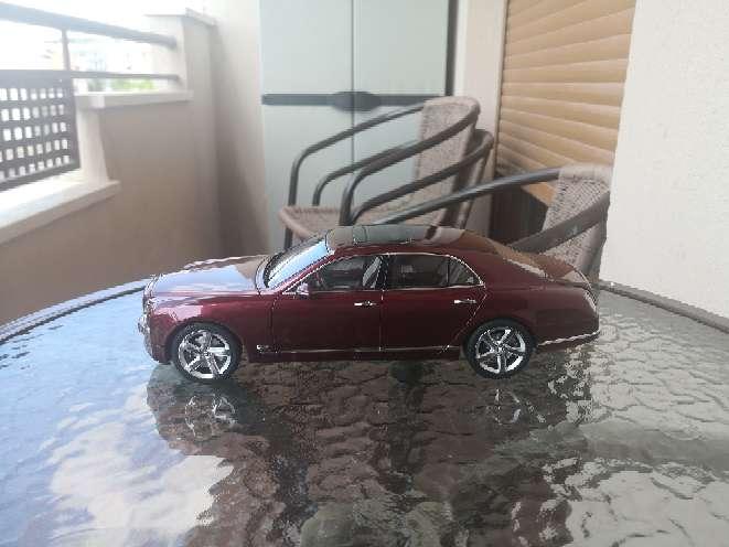 Imagen producto Coche a escala 1/18 Bentley kyosho 4