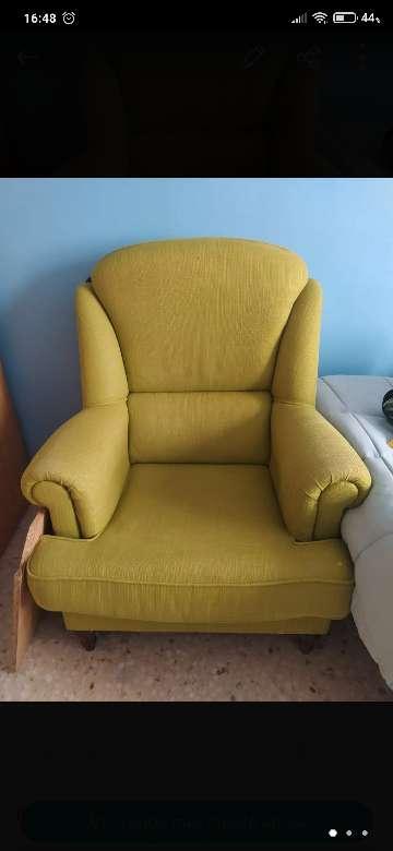 Imagen producto Sillón verde pistacho 2