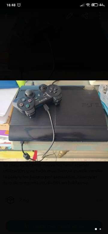 Imagen Pley 3 con juegos y mando