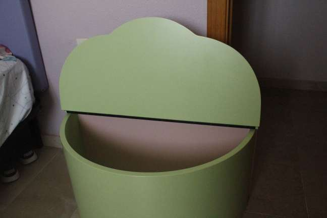 Imagen producto Armario + Cómoda + Baúl infantil 10