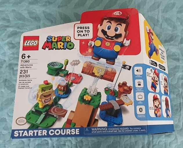Imagen venta lego mario bros set inicial
