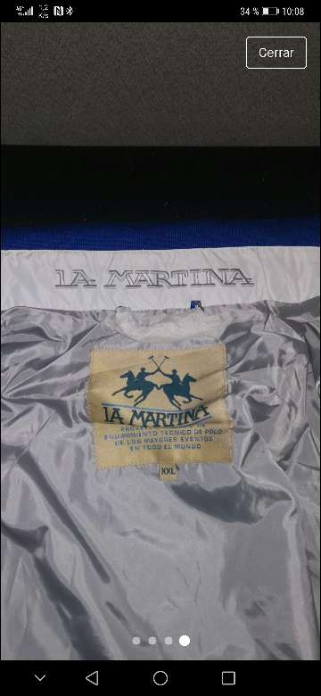 Imagen chaqueta la Martina nueva a estrenar XXL.