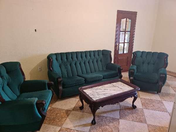 Imagen Sofa vintage  y mesa centro