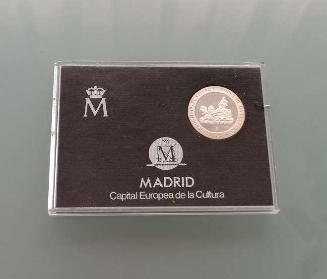 Imagen Estuche 200 pesetas 1992 plata