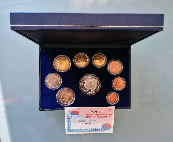 Imagen España estuche euros proof 2002 plata