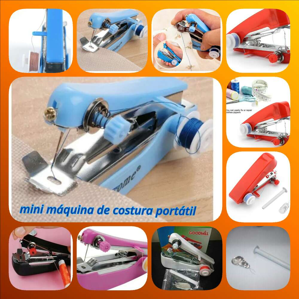 Imagen producto Maquina de costura portatil 2