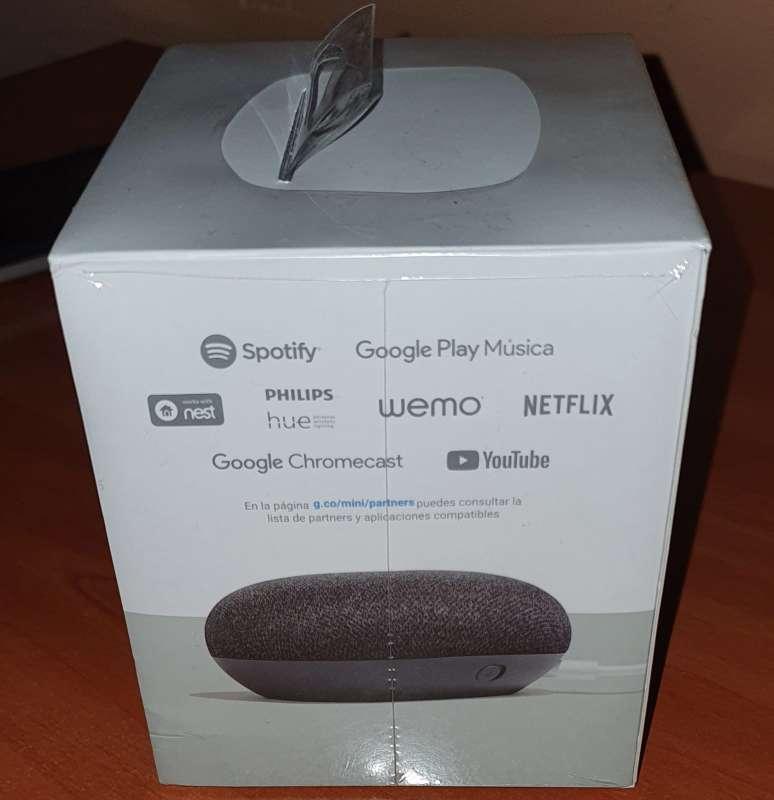 Imagen producto Altavoz Bluetooth Google Home Mini - Negro 6