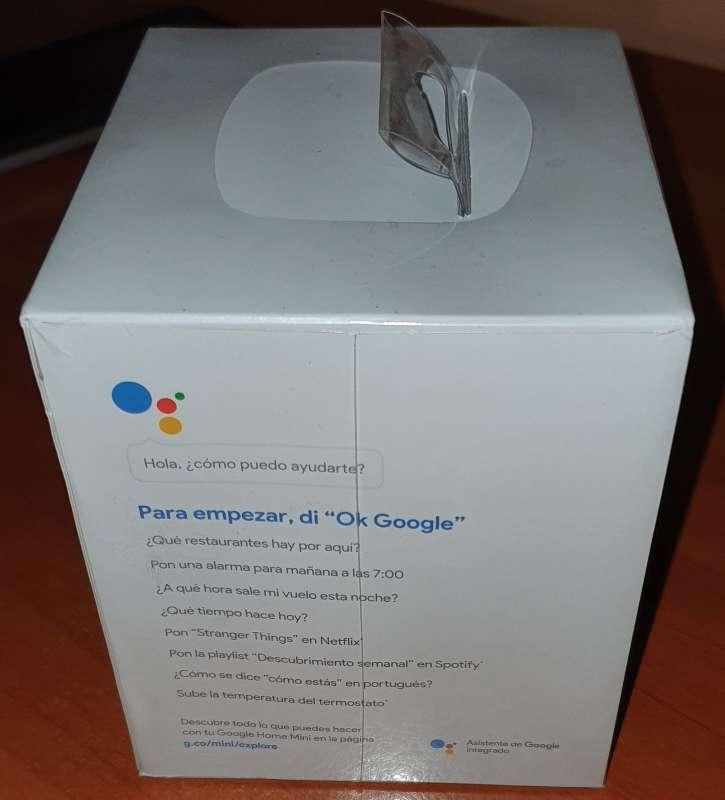 Imagen producto Altavoz Bluetooth Google Home Mini - Negro 7