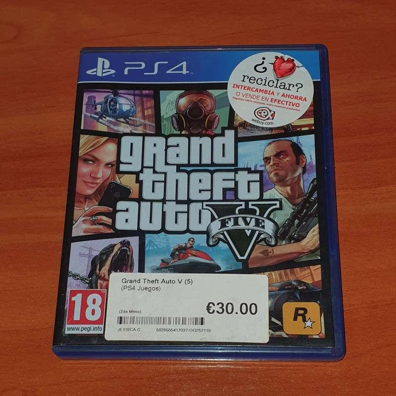 Imagen producto Grand Theft Auto V (GTA V) (PS4) 3