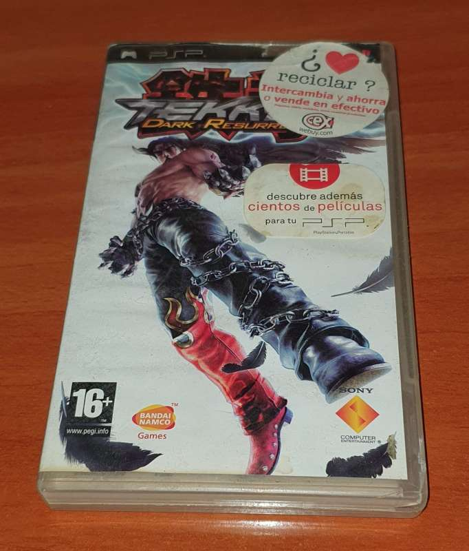 Imagen producto Tekken Dark Resurrection, Videojuego Para PSP 4