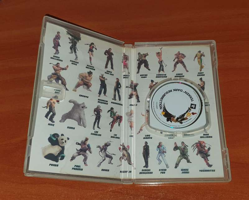 Imagen producto Tekken Dark Resurrection, Videojuego Para PSP 3