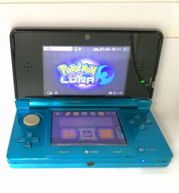 Imagen producto Videoconsola Nintendo 3DS Azul Con Caja Original 4