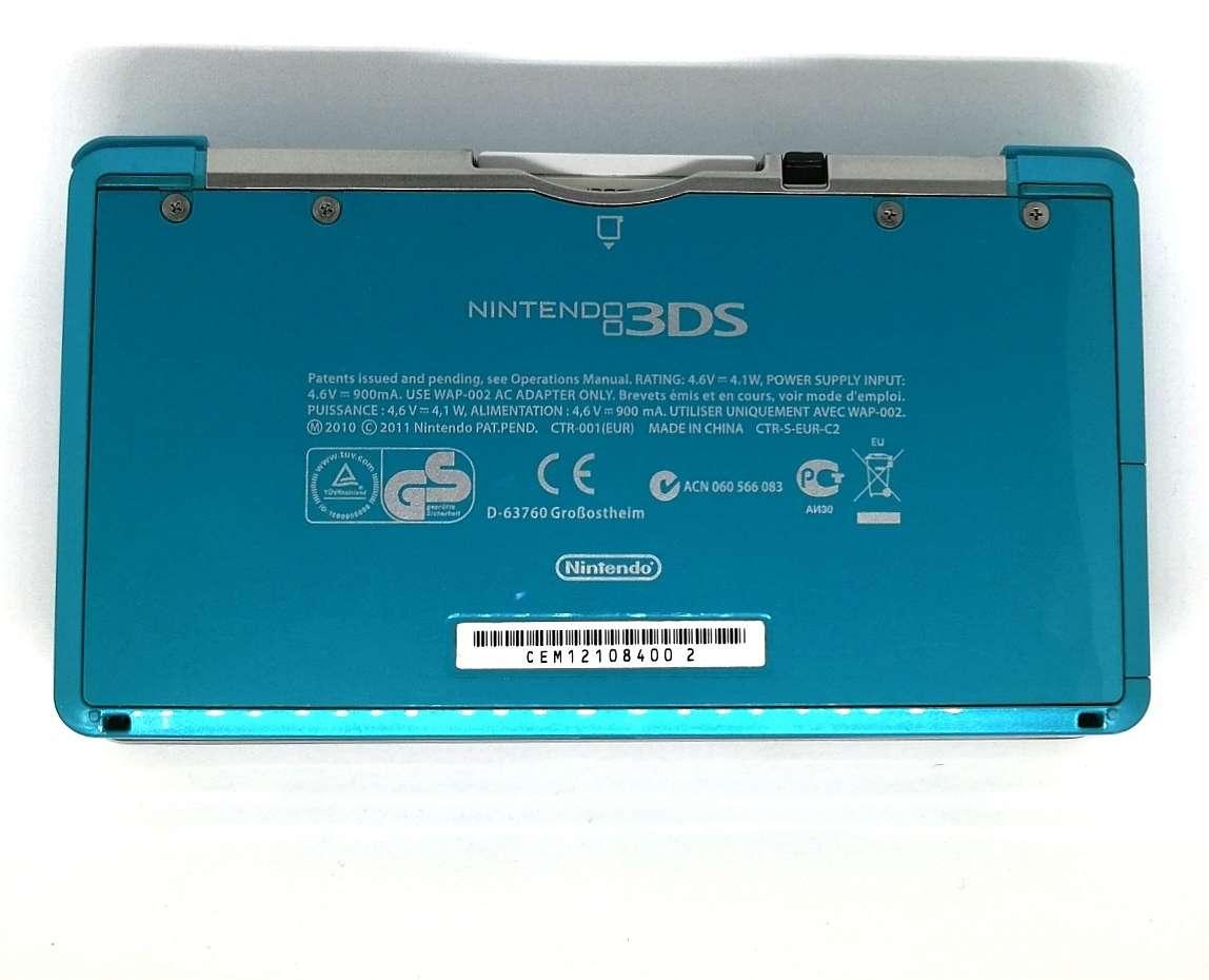 Imagen producto Videoconsola Nintendo 3DS Azul Con Caja Original 5