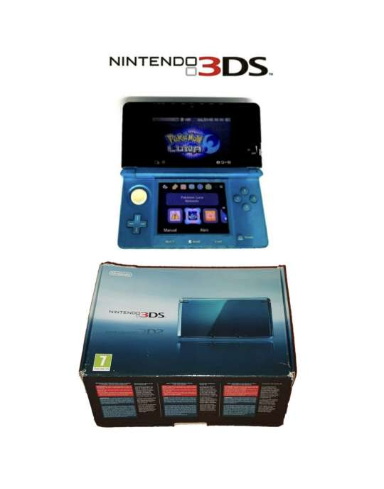 Imagen Videoconsola Nintendo 3DS Azul Con Caja Original
