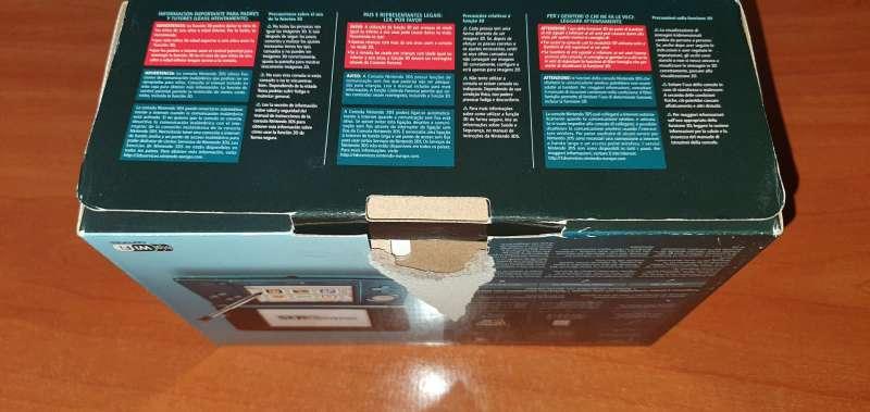 Imagen producto Videoconsola Nintendo 3DS Azul Con Caja Original 9