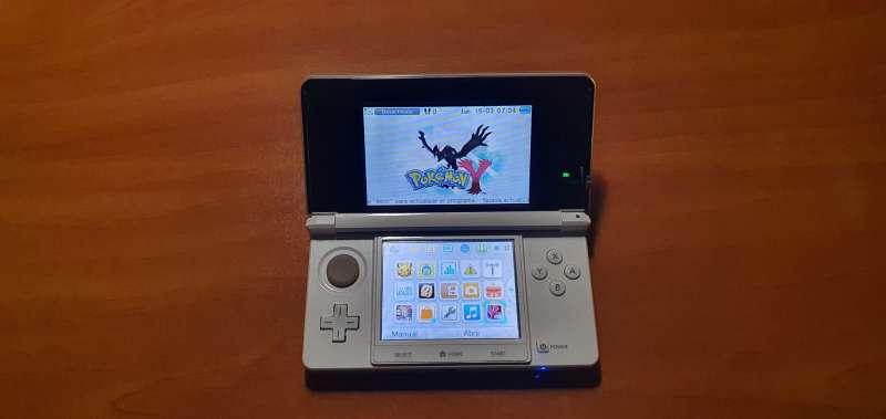 Imagen producto Videoconsola Nintendo 3DS Blanca Con Caja Original 3