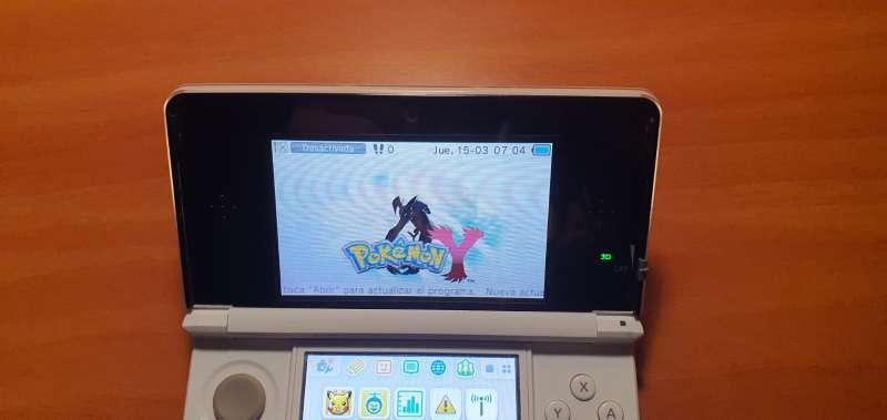 Imagen producto Videoconsola Nintendo 3DS Blanca Con Caja Original 4
