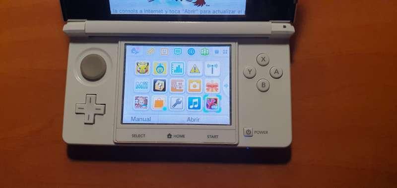Imagen producto Videoconsola Nintendo 3DS Blanca Con Caja Original 5