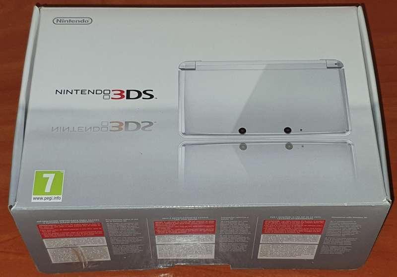 Imagen producto Videoconsola Nintendo 3DS Blanca Con Caja Original 9