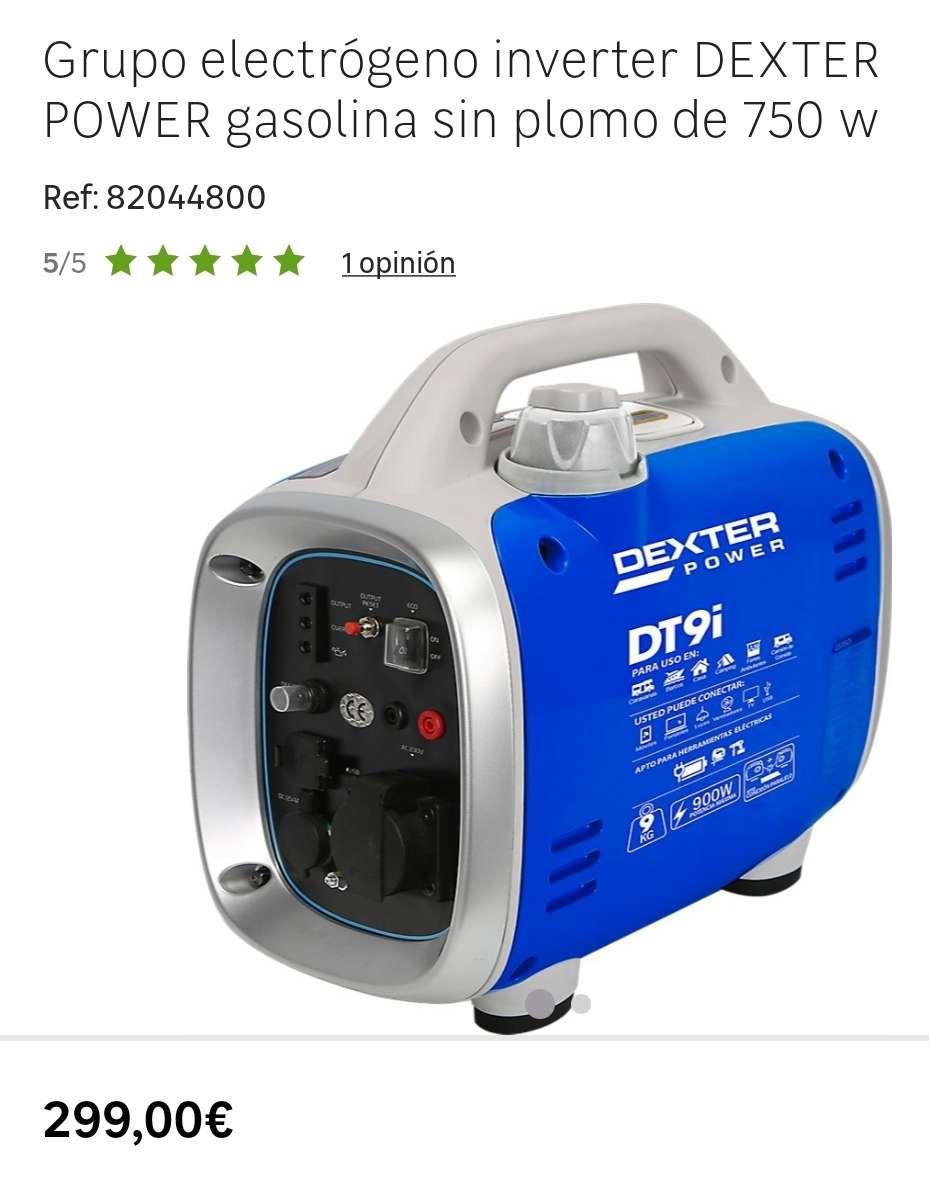 Imagen producto Generador Inverter Monofásico, 4 Tiempos, Portátil. 2
