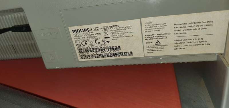 Imagen producto TV Philips HD Modelo UVSH LC370WX1-SL04 6