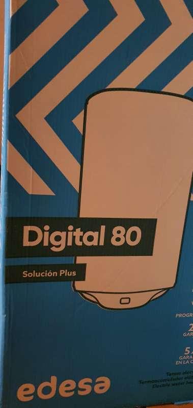 Imagen producto Termo Eléctrico EDESA Digital 80L, Ducha. 3